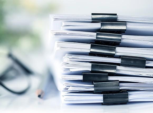 Dokumente für jeden Immobilienverkauf